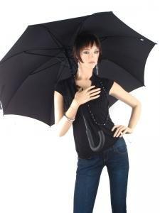 Parapluie Esprit Noir gents long ac 50150-vue-porte