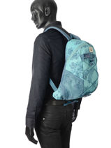 Sac à Dos 1 Compartiment Dakine Bleu girl packs 8130060W-vue-porte