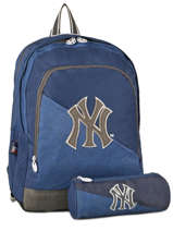 Sac A Dos 2 Compartiments Mlb/new-york yankees Bleu blus sky MNO22038