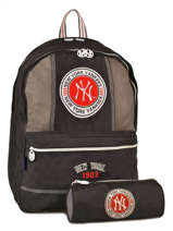 Sac A Dos 2 Compartiments Mlb/new-york yankees Noir team MNM22038