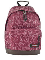 Sac à Dos 1 Compartiment Wyoming Eastpak Rouge authentic K811