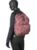 Sac à Dos 1 Compartiment Eastpak Rouge authentic K811-vue-porte