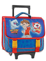 Cartable à Roulettes Yokai watch Bleu super 22401WEF