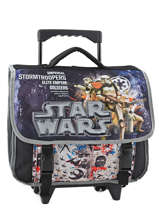 Cartable à Roulettes Star wars Noir lazer SW171832