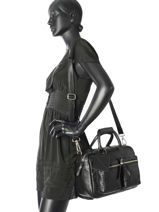 Sac à Main Brick Cuir Cowboysbag Noir brick 1946-vue-porte