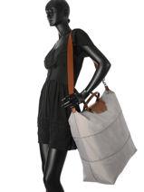 Longchamp Sac de voyage Gris-vue-porte