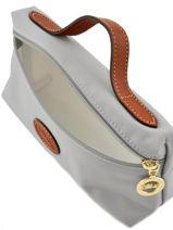 Longchamp Pochette Gris-vue-porte