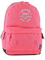 Sac A Dos 1 Compartiment Superdry Rose backpack woomen G91000JP