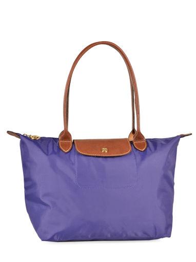 Longchamp Le pliage Besace Violet