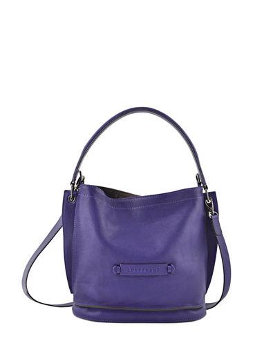 Longchamp Longchamp 3d Sac porté travers Violet
