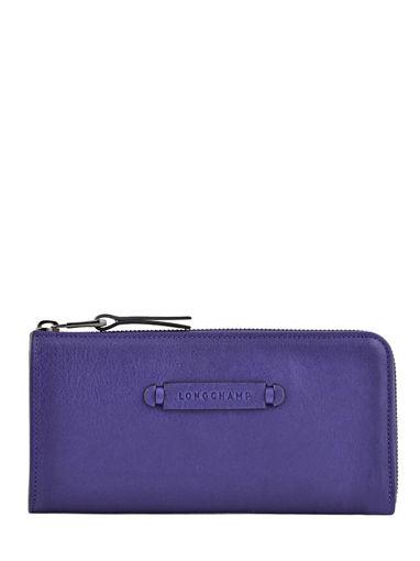 Longchamp Longchamp 3d Portefeuille Violet