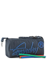 Trousse 1 Compartiment Superdry Bleu accessories men M98009DP-vue-porte