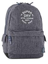 Sac à Dos 1 Compartiment Superdry Bleu backpack woomen G91000JP