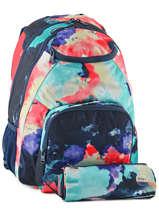 Sac à Dos 2 Compartiments Avec Trousse Offerte Roxy Multicolore back to school RJBP3594