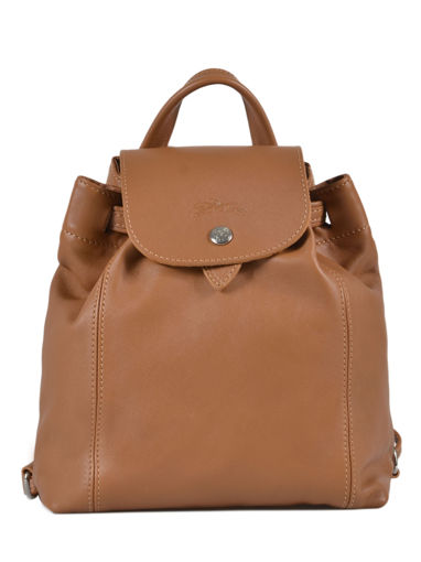 Longchamp Sac à dos Beige