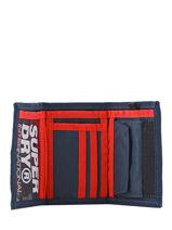 Portefeuille Superdry Bleu accessories men M98021DP-vue-porte