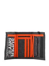 Portefeuille Superdry Gris accessories men M98021DP-vue-porte