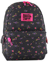 Sac à Dos 1 Compartiment Superdry Noir backpack woomen G91001NP