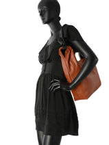 Sac Shopping Berlingot Woomen Marron berlingot WBER01-vue-porte