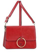 Sac Bandoulière Ring Woomen Rouge ring WRIN03