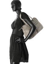 Sac Shopping Abby Cuir Pieces Marron abby 17085467-vue-porte