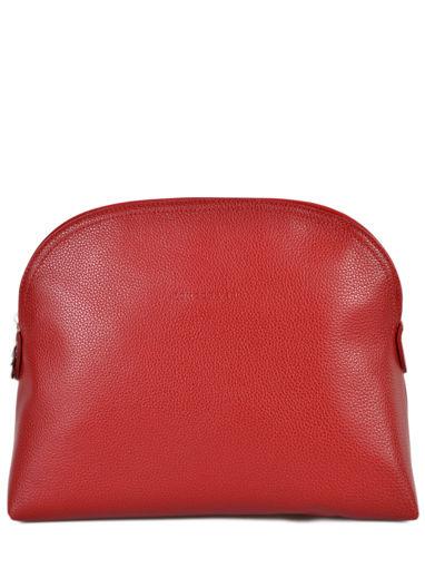 Longchamp Trousse de toilette Rouge