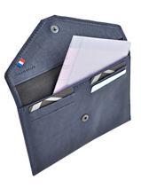 Porte-papiers Cuir Etrier Bleu blanco 600054-vue-porte