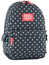 Sac à Dos 1 Compartiment Superdry Bleu backpack woomen G91001NP
