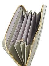 Portefeuille Armani jeans Grijs eco saffiano multico 32-CC857-vue-porte