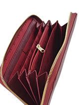 Portefeuille Armani jeans Violet eco saffiano multico 32-CC857-vue-porte