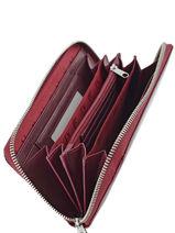Portefeuille Armani jeans Violet vernice lucida 5V32-55-vue-porte