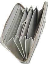 Portefeuille Armani jeans Gris vernice lucida 5V32-55-vue-porte
