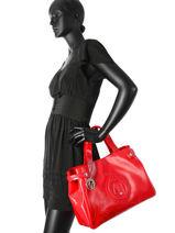 Cabas Vernice Lucida Verni Armani jeans Rouge vernice lucida 5291-55-vue-porte