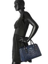 Sac à Main Eco Cocco Armani jeans Bleu eco cocco 1467A711-vue-porte
