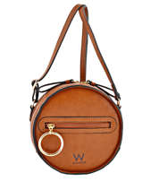 Sac Bandouliere Ring Woomen Marron ring WRIN05