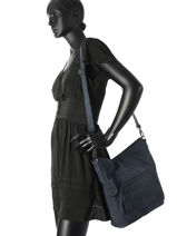 Sac Bandouliere Mono Maddy Cuir Burkely Bleu mono maddy 531924-vue-porte
