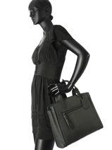 Handtas A4 Be Beauty Leder Burkely Zwart be beauty 532366-vue-porte