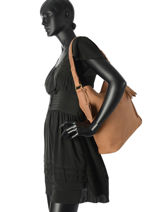 Sac Besace Be Beauty Cuir Burkely Marron be beauty 532466-vue-porte