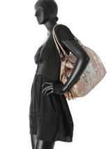 Sac Shopping Ambre Miniprix Marron ambre MD671-vue-porte
