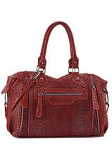 Sac Shopping Velvet Stampa Cuir Milano Rouge velvet stampa V3160615