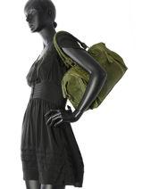 Sac Shopping Velvet Stampa Cuir Milano Vert velvet stampa V3160615-vue-porte