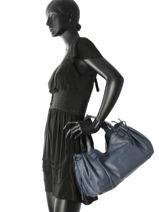 Sac Shopping Gd Cuir Gerard darel Bleu gd DES07410-vue-porte