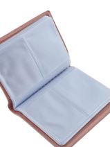 Porte-cartes Cuir Etrier Rose blanco 600023-vue-porte