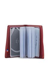 Porte-cartes Cuir Etrier Rouge blanco 600021-vue-porte