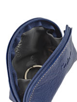 Porte-monnaie Cuir Katana Bleu vachette gras 853007-vue-porte