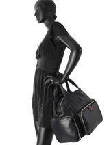 Sac Porte Main Forever Nylon Sonia rykiel Noir forever nylon 2276-39-vue-porte