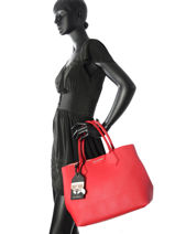 Sac à Main Klassik Shopper Karl lagerfeld Rouge shopper 76KW3062-vue-porte