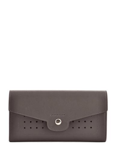 Longchamp Portefeuille Gris