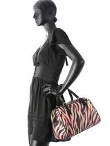 Sac Polochon Calla Zebra Liu jo Rose calla zebra N67062B-vue-porte