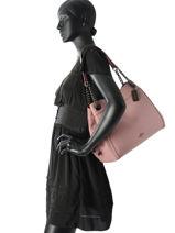 Shoppingtas Edie Leder Coach Roze edie 36855-vue-porte